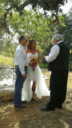 Cowboy wedding | Fredericksburg
