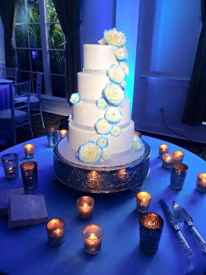 Coccadotts Cake Shop Wedding Cake Myrtle Beach Sc