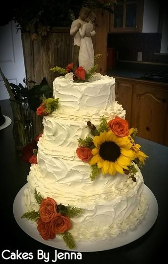 Cakes By Jenna - Wedding Cake - Dublin, TX - WeddingWire