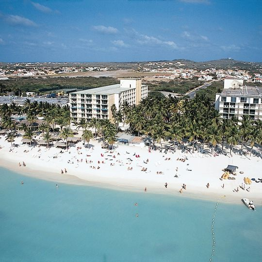Holiday Inn SunSpree Resort Aruba-Beach Resort & CasinoOur porte cochere entrance, with...