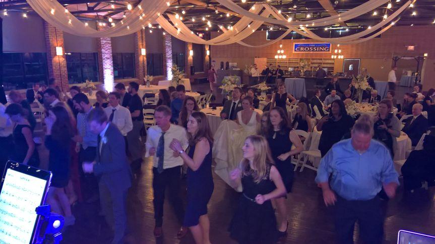 Guests on the dance floor