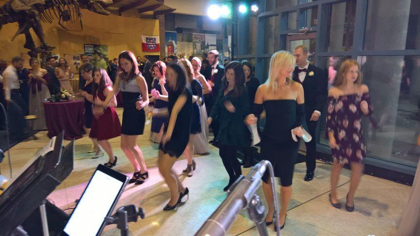 Group dance