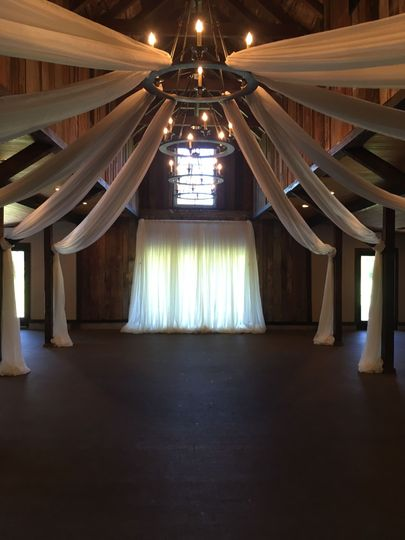 The wedding chandelier