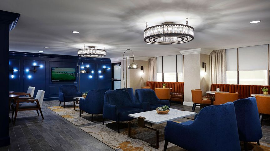 Our exclusive m club lounge