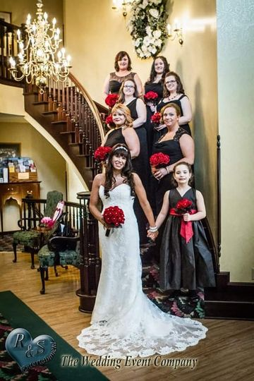 The Grand Staircase - a favorite for photos - at the Inn at Aberdeen