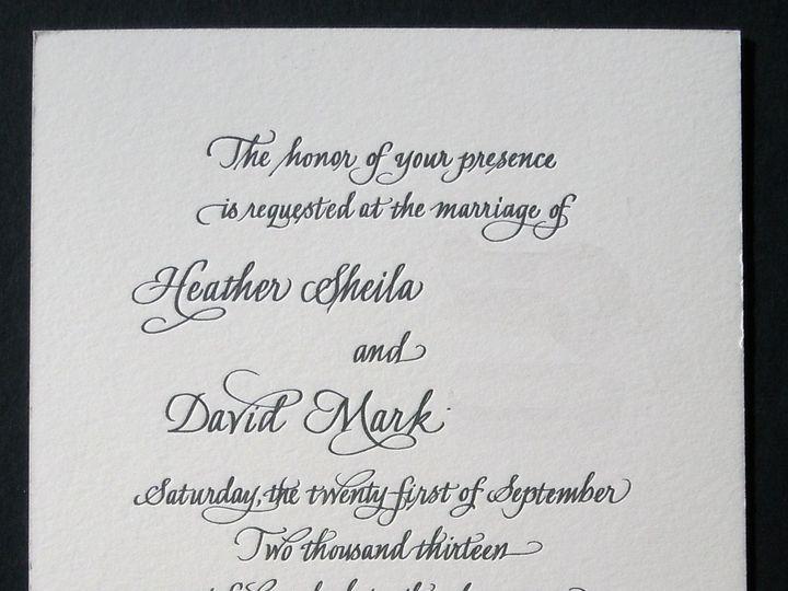 Tmx 1393447063450 Letterpress Invit Modesto wedding invitation