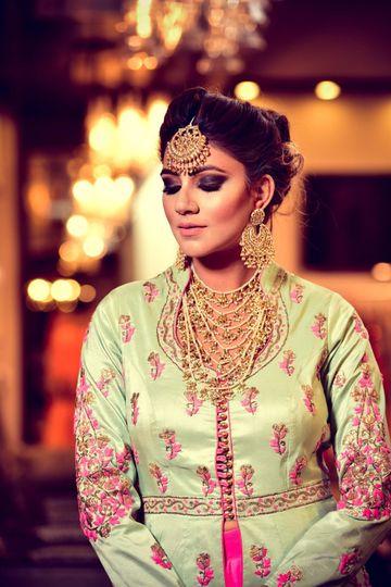 Sleeved bridal top