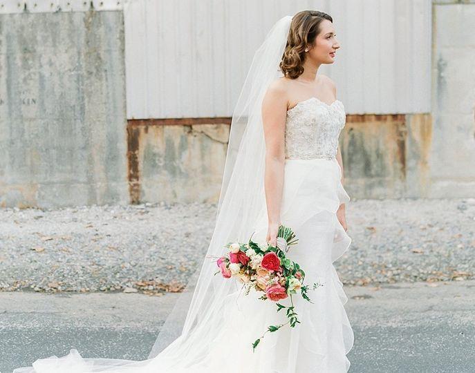 Dazzling bride