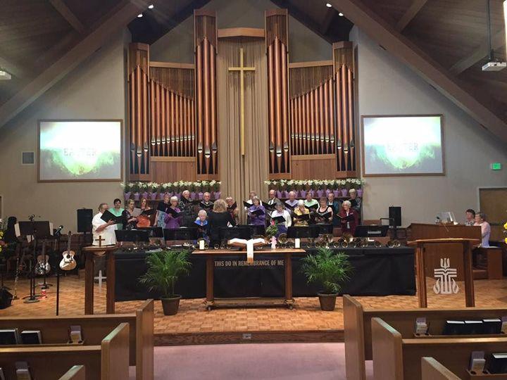 Choir member of First Presbyterian Church of El Cajon