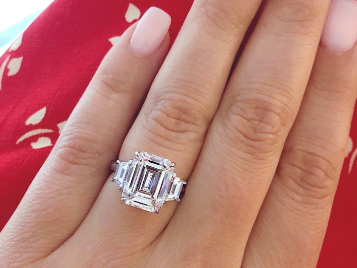 Tmx 5 Carat Emerald Cut Diamond Ring Custom Design By Ascot Diamonds 51 71656 1559323216 Atlanta, GA wedding jewelry