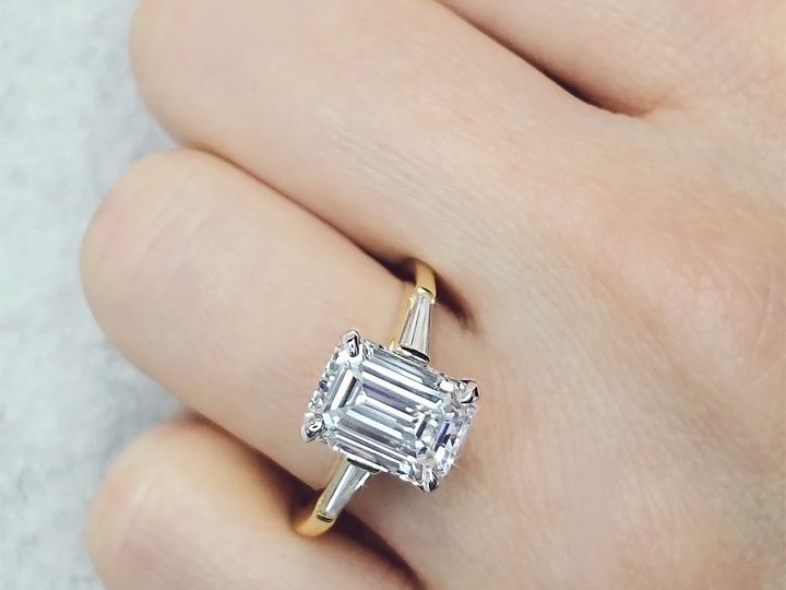 Tmx Emerald Cut Diamond Engagement Ring By Ascot Diamonds 51 71656 Atlanta, GA wedding jewelry