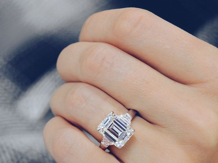 Tmx Emerald Cut Diamond Engagement Ring Custom Design By Ascot Diamonds 51 71656 Atlanta, GA wedding jewelry