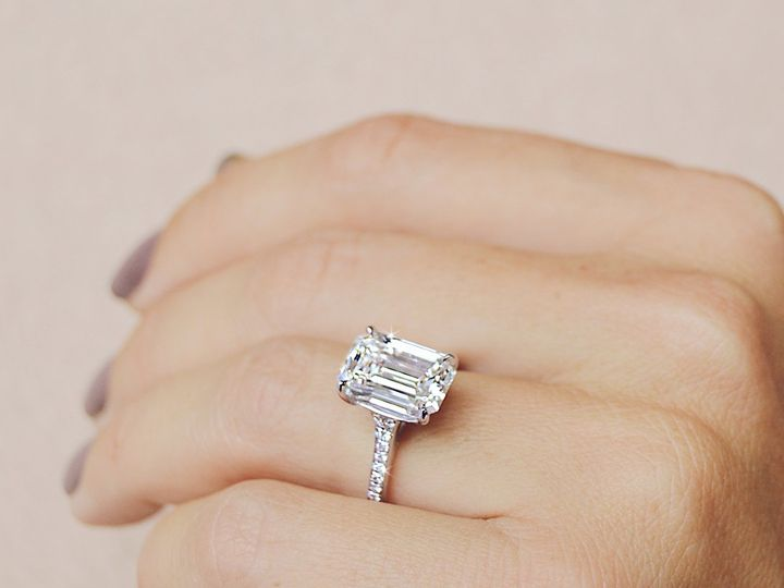 Tmx Emerald Cut Diamond Solitaire Engagement Ring By Ascot Diamonds 51 71656 Atlanta, GA wedding jewelry
