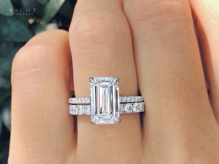 Tmx Emerald Cut Engagement Ring And Ladies Eternity Diamond Band Custom Design By Ascot Diamonds 51 71656 160441914961308 Atlanta, GA wedding jewelry
