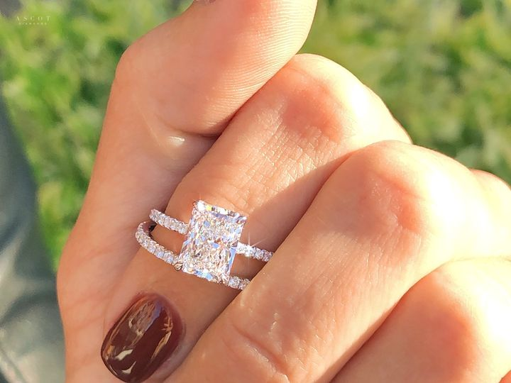 Tmx Radiant Cut Engagement Ring Solitaire 2 Carat Diamond Custom Design By Ascot Diamonds Atlanta 51 71656 160441915143703 Atlanta, GA wedding jewelry