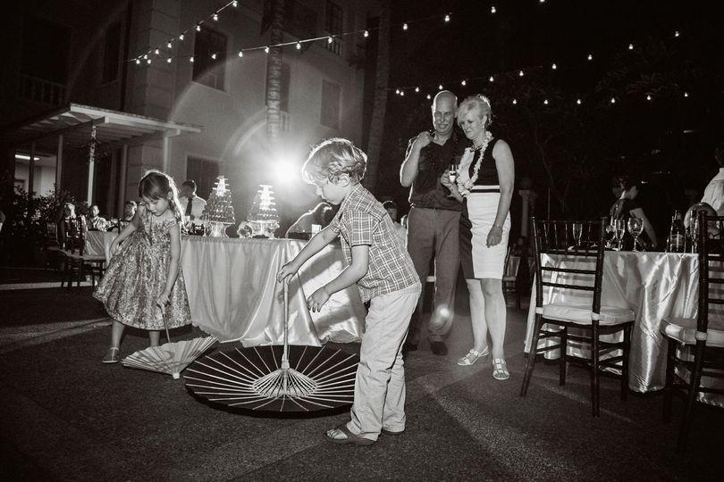 laniakea ywca kids wedding reception photos