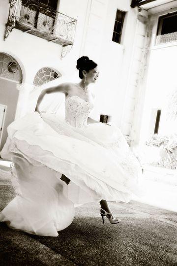 bride wedding at ywca hawaii