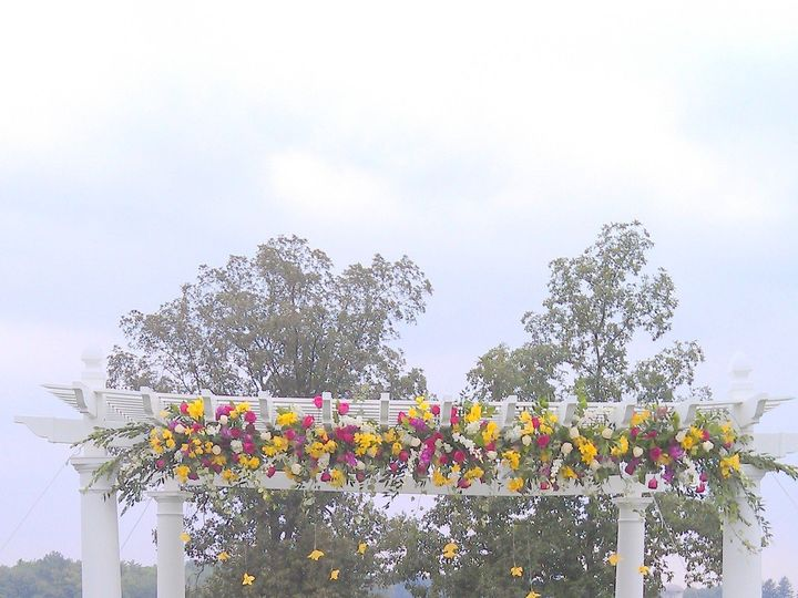 Tmx 1445875370866 Chuppah  Trellis Decorated For Ceremony Outside Highland Mills wedding florist