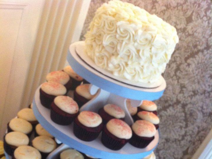 Tmx 1357782615165 IMG2958 Ridgefield wedding cake