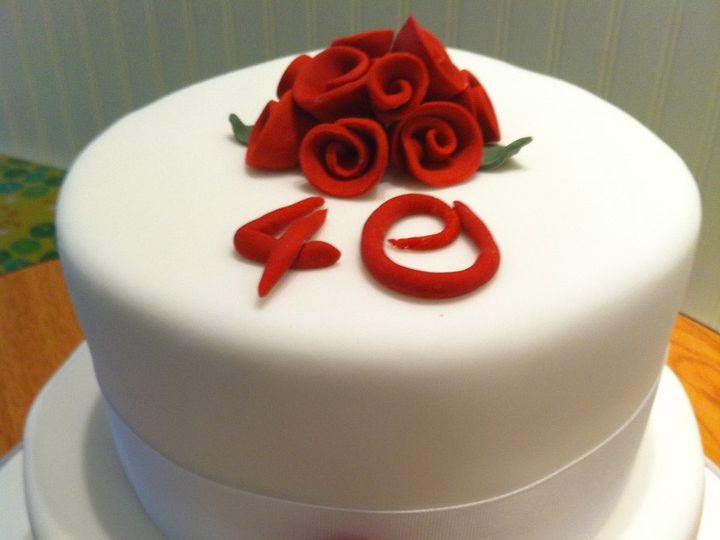 Tmx 1357782973427 IMG0844 Ridgefield wedding cake
