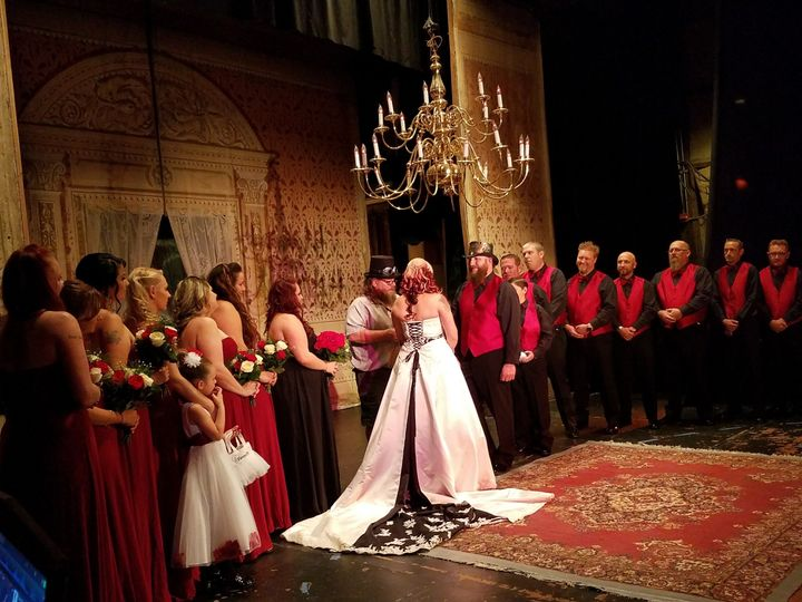 Ceremony at Piper's Opera House