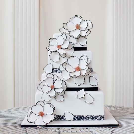 Sweetface Cakes Wedding Cake Franklin TN WeddingWire