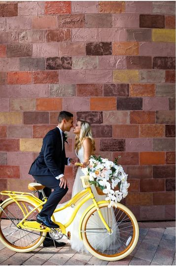 Couple on Bycicles