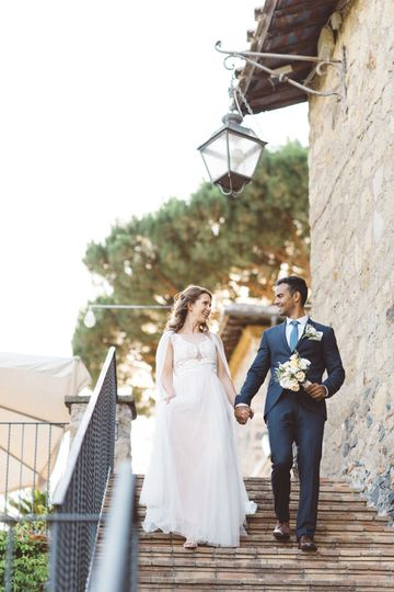 Cathrine & James - Castello della Castelluccia, Rome 2016