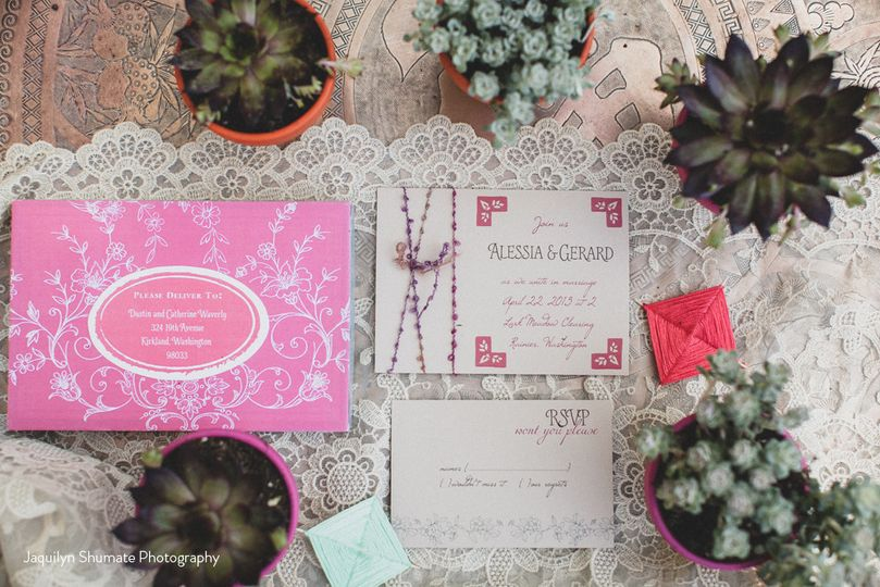boho invite for website