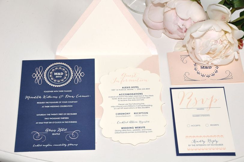invitation layout meredith