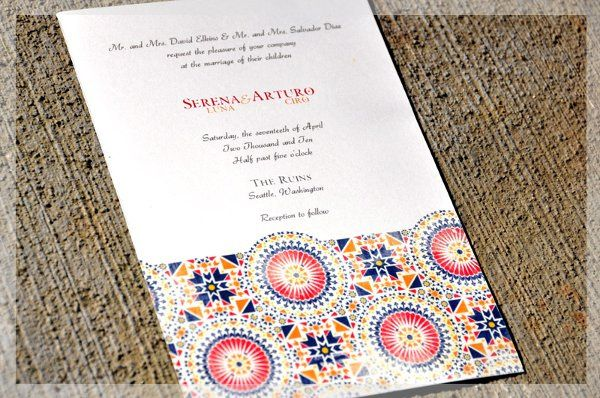 Tmx 1304019216423 Spanishinvitephoto Kenmore wedding invitation