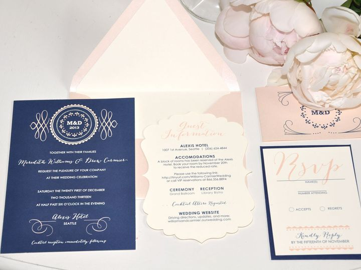 Tmx 1416872767692 Invitation Layout Meredith Kenmore wedding invitation