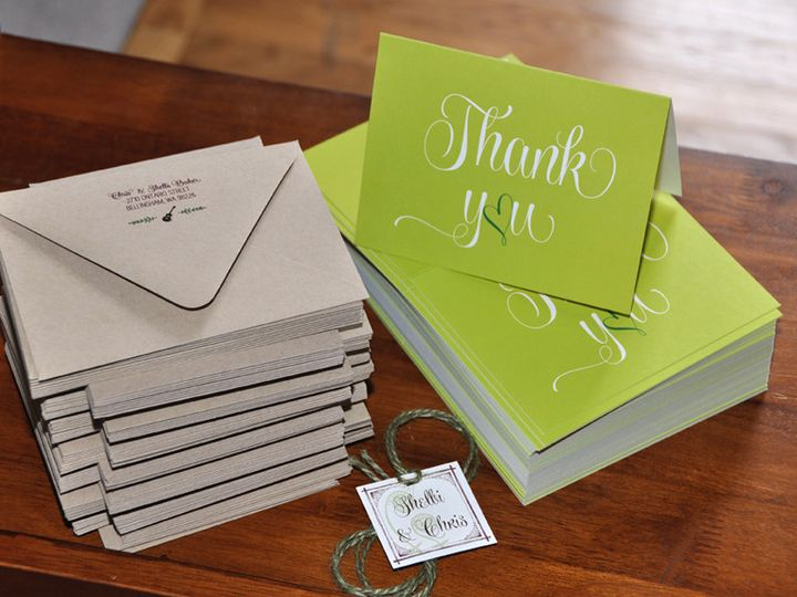 Tmx 1416872902450 Shelbi Thank You Stacks Kenmore wedding invitation