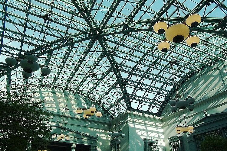harold washington library skylight
