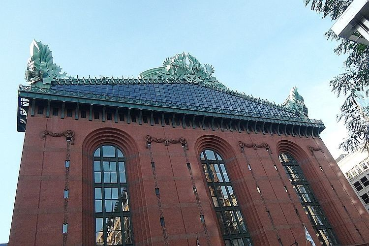 harold washington library exterior