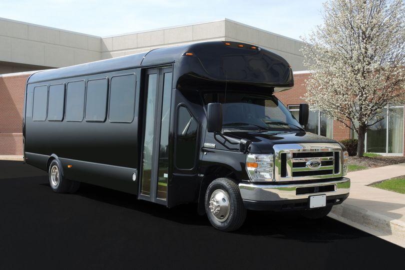 School-bus type limo