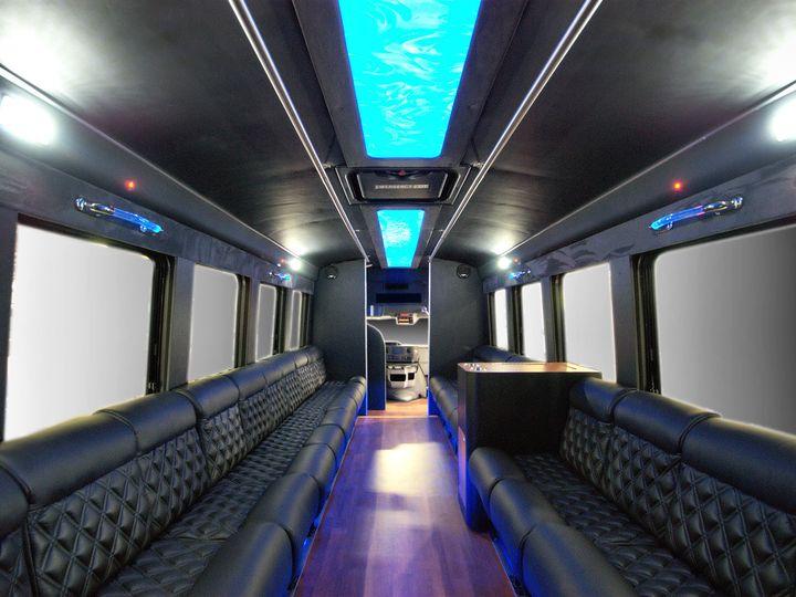 Tmx 1456348390915 Party Bus Interior 1 Hawthorne, New Jersey wedding transportation
