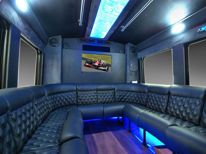 Tmx 1456348406840 Party Bus Interior 2 Hawthorne, New Jersey wedding transportation