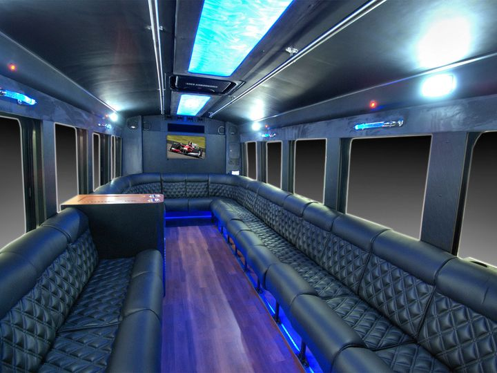 Tmx 1456348428513 Party Bus Interior 3 Hawthorne, New Jersey wedding transportation