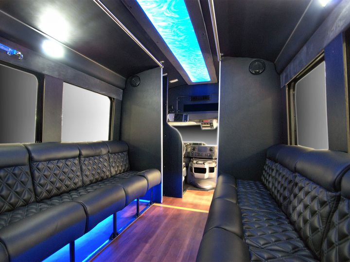 Tmx 1456348577415 Party Bus Interior 4 Hawthorne, New Jersey wedding transportation