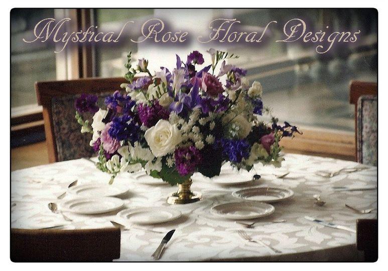 blue purple table branded