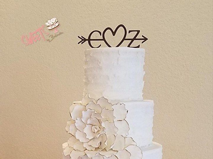 Tmx 1518147311 F2a1cb13db02d3ad 1518147311 Bc226a744c43e562 1518147310806 17 9 Arlington, Texas wedding cake