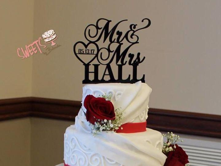 Tmx 1518149272 6578d598447c1c1b 1518149271 8b1c6a9a10e34025 1518149271601 1 59 Arlington, Texas wedding cake