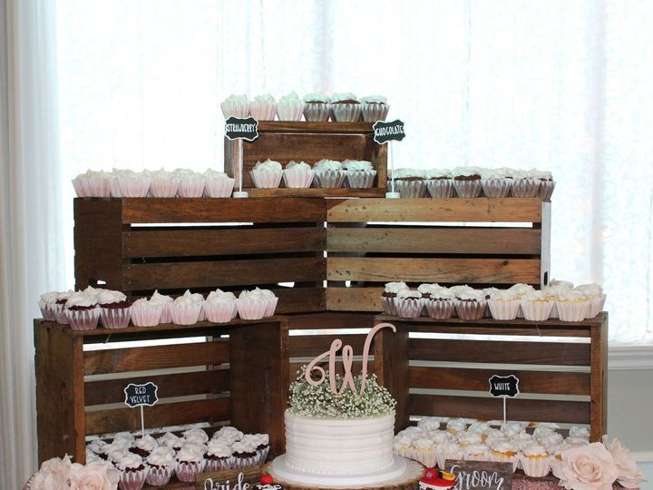 Tmx 1538693542 42b9796c27be9489 1538693538 C4c622e75323d54c 1538693537315 1 Cupcakes1 Arlington, Texas wedding cake