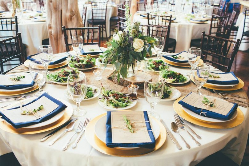 Table setting Unbridled Dreams Photography