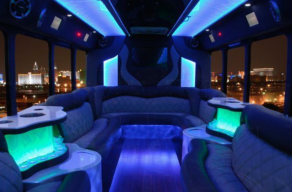 "Our party buses are the ultimate luxury experience.  Imagine your guests in a ""lounge on wheels""...."
