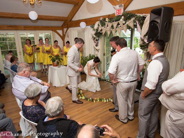 Tmx 1413568459636 Kristin Steve Flower Placement Ithaca, New York wedding officiant