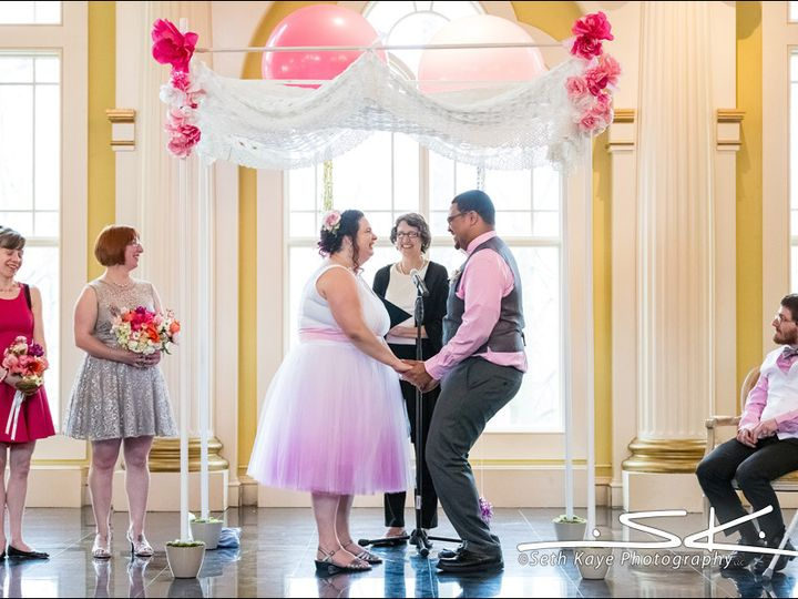 Tmx 1478723426106 Laura Steve Laughing Ithaca, New York wedding officiant