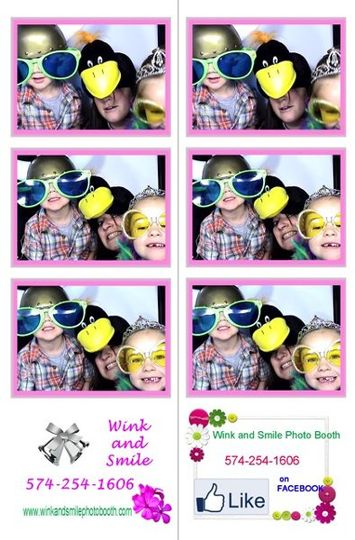 Photo Booth Strips in color or black & white