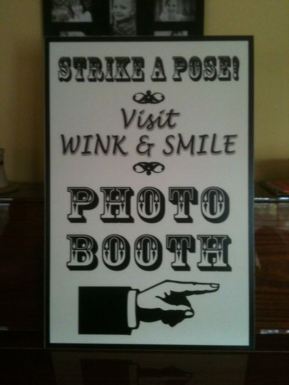 Photo Booth fun with Wink and Smile Photo Booth rental in the South Bend, Michiana areas.